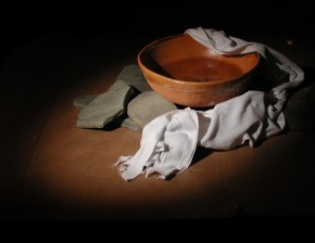 basin towel